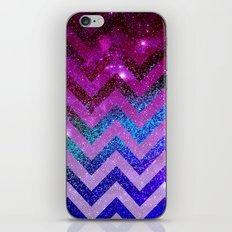 Galaxy Chevron iPhone & iPod Skin