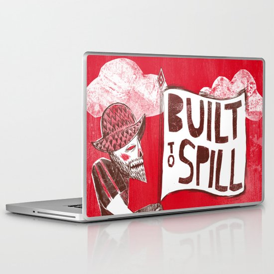 Built to Spill - Wonder Ballroom, Portland Laptop & iPad Skin