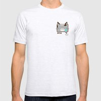 Convo Cats! Opus Mens Fitted Tee Ash Grey SMALL