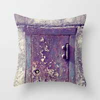 Little Door Throw Pillow
