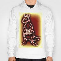 The Flying Kangaroo & It… Hoody