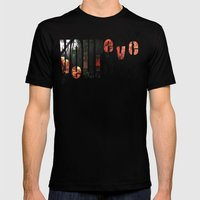 Believe (in) Yourself Mens Fitted Tee Black SMALL