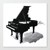 Pianist, Frédéric Chop… Canvas Print