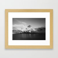 Rabbit Lake Framed Art Print