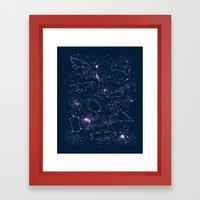 Star Ships Framed Art Print