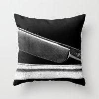 WAKE - SLICE 'EM THIN Throw Pillow
