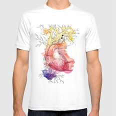 Branches Mens Fitted Tee White SMALL