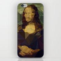 Creased Lisa iPhone & iPod Skin