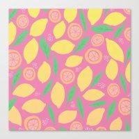 Pink Lemonade Canvas Print