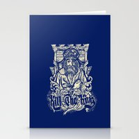 Kill The King Stationery Cards