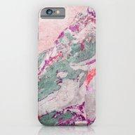 Marble Art V14 #society6… iPhone 6 Slim Case