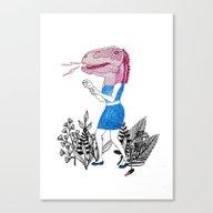 Grrr! Canvas Print