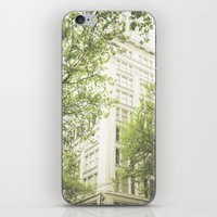 Green In The Grey iPhone & iPod Skin
