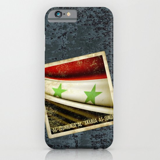 STICKER OF SYRIA flag iPhone & iPod Case