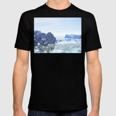 Land Of Ice Mens Fitted Tee Black SMALL
