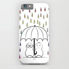 Mimos under Rainbow rain Slim Case iPhone 6s