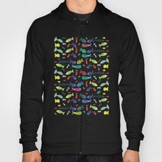 Happy colourful fish  Hoody