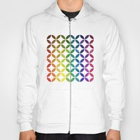 abstract round shapes background circle geometry illustration Hoody