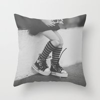 Lomography In The City Throw Pillow