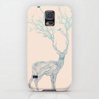 iPhone Cases featuring Blue Deer by Huebucket