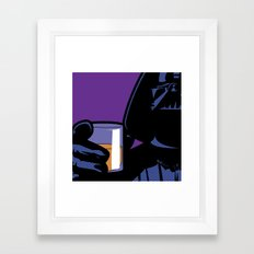 SLOH - Dark on the Rock Framed Art Print