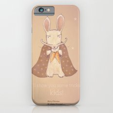Christmas creatures- Bunny The Magician iPhone 6 Slim Case