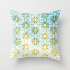 Gold Star Throw Pillow