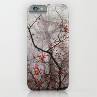 iPhone & iPod Case featuring Forest of Red by Bella Blue Photography