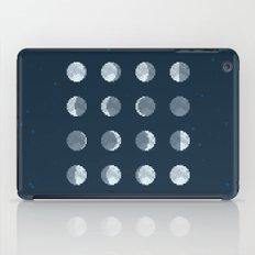 8bit Moon Phases iPad Case