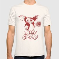 Cheers Gizmo Mens Fitted Tee Natural SMALL