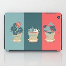 Geranium iPad Case