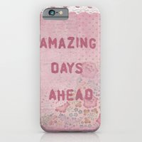 iPhone & iPod Case featuring Amazing days ahead by ArtByBeata