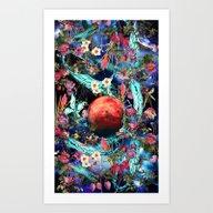 MARS&WATER Art Print