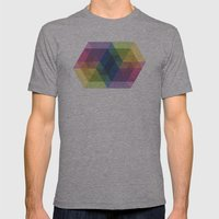 Fig. 030 Mens Fitted Tee Athletic Grey SMALL