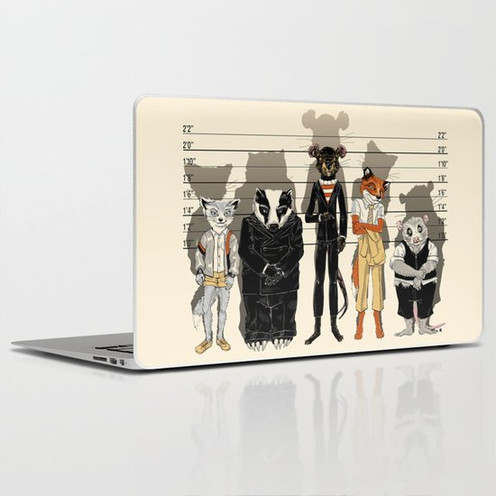 Unusual Suspects Laptop & iPad Skin