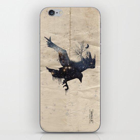 Space Raven iPhone & iPod Skin