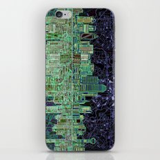 Dallas City Skyline iPhone & iPod Skin