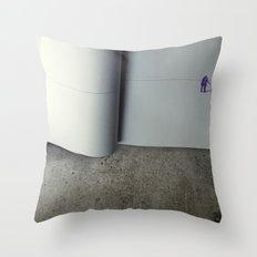 The Last Page Throw Pillow