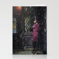 Snowscape II Stationery Cards