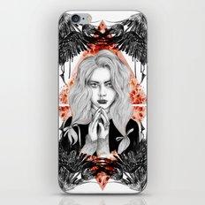Russian Dark Girl iPhone & iPod Skin