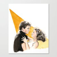 Nobody Puts Baby In A Co… Canvas Print