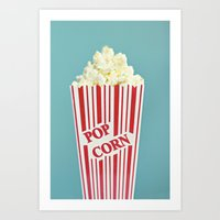 Pop Corn Art Print
