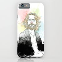 iPhone Cases featuring The Dude, His Dudeness, Duder, or El Duderino by suPmön