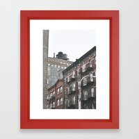 New York City Corners Framed Art Print