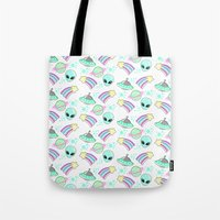 In Space You're Adorable Tote Bag