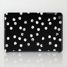 White Dots iPad Case