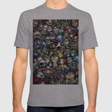 The Legend of Zelda Mens Fitted Tee Athletic Grey SMALL