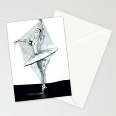 Dancing Stiff Stationery Cards