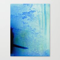 Fire Forest Canvas Print