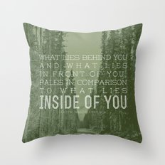 Inside of You Throw Pillow